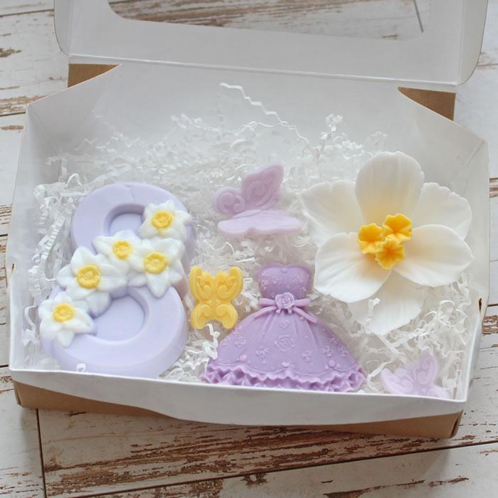 """Набор мыла """"Весна"""". Заказать / купить мыло ручной работы в Тюмени"""
