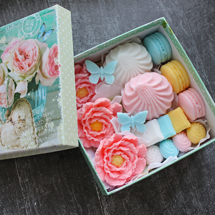 Набор мыла Наслаждение. Купить мыло ручной работы в Тюмени