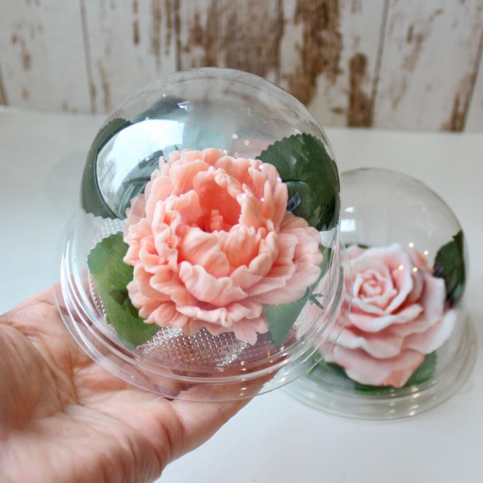 Цветок в купольной упаковке