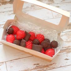 Набор Ягоды и шоколад. Купить мыло ручной работы в Тюмени Цена от 250 ₽