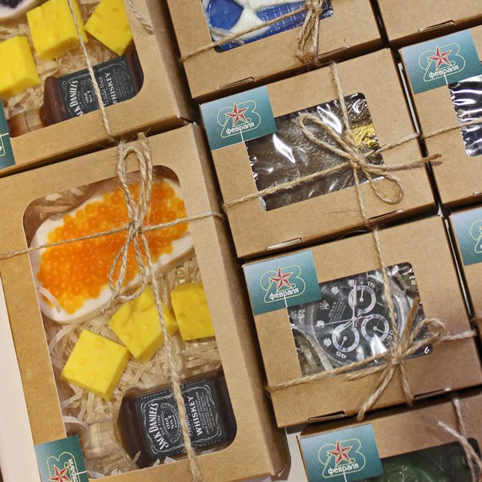 """Набор мыло ручной работы """"Вечеринка"""". Купить или заказать мыло ручной работы в Тюмени на MixSoap.ru с доставкой по РФ  Цена от 400 ₽"""