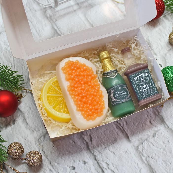 """Набор мыла """"К Новогоднему праздничному столу"""". Мыло ручной работы – купить или заказать на MixSoap.ru   Мыло Тюмень  Цена от 420 ₽"""