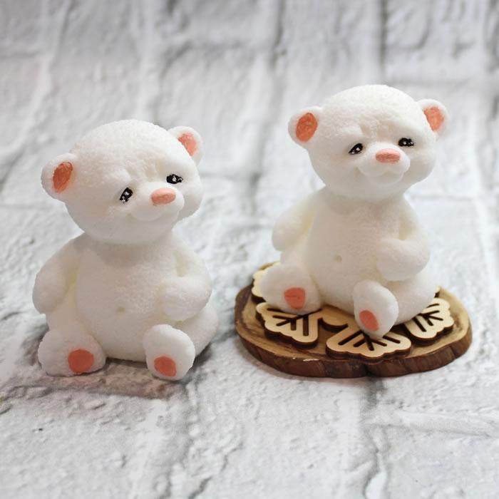"""Подарок к Новому году. Мыло """"Белый медведь Умка"""". Мыло ручной работы – купить или заказать на MixSoap.ru Мыло Тюмень  Цена от 150 ₽"""